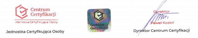Akredytacja centrum certyfikacji